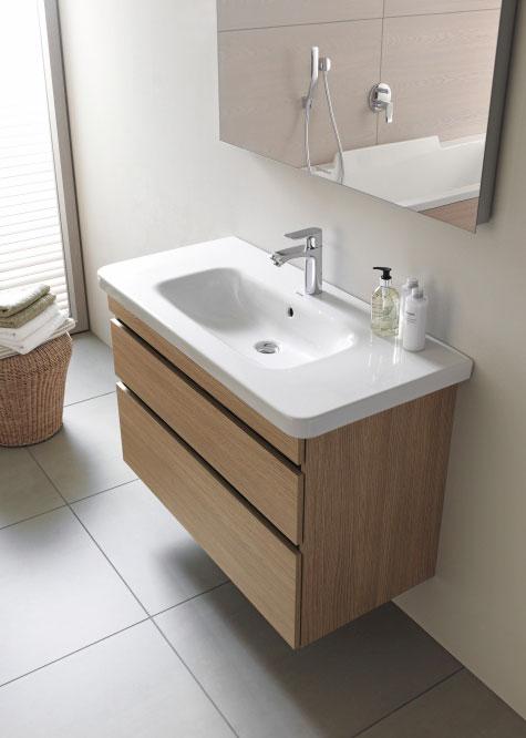 Aufsatzwaschbecken mit unterschrank stehend  Waschtische & Waschbecken aus Keramik | Duravit