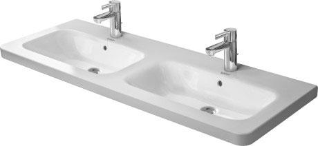 Doppelwaschtisch duravit  DuraStyle Doppelwaschtisch, Möbel-Doppelwaschtisch #233813 | Duravit