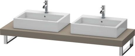 fogo konsole f r aufsatzbecken fo079c duravit. Black Bedroom Furniture Sets. Home Design Ideas