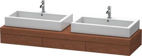 fogo konsole mit schubkasten fo8534 duravit. Black Bedroom Furniture Sets. Home Design Ideas