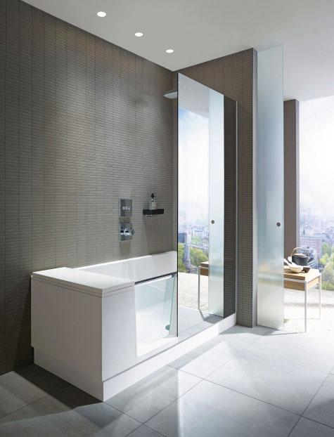 Shower U0026 Bath: Duschbadewannen U0026 Kombiwannen Für Kleine Bäder | Duravit