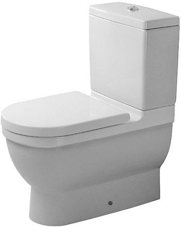Hervorragend Starck 3 Stand-WC Kombination #012809   Duravit EB69