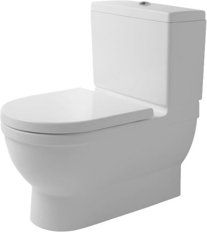 starck 3 stand wc kombination big toilet 210409 duravit. Black Bedroom Furniture Sets. Home Design Ideas