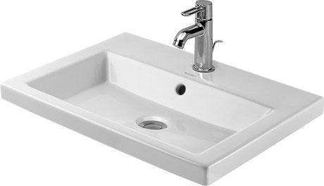 Einbauwaschtisch  2nd floor Einbauwaschtisch #034760 | Duravit