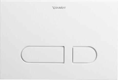 Durasystem Betatigungsplatte A1 Fur Wc Kunststoff Wd5001 Duravit