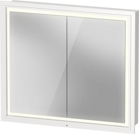 L Cube Spiegelschrank Einbauvariante Lc7651 Duravit