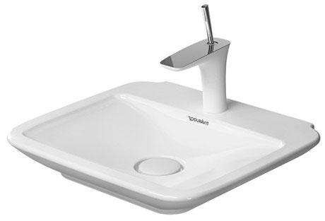puravida m bel handwaschbecken 072150 duravit. Black Bedroom Furniture Sets. Home Design Ideas