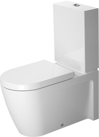 Duravit Starck 2 Waschtisch 65 cm mit 3 Hahnlöchern 2323650030 - MEGABAD