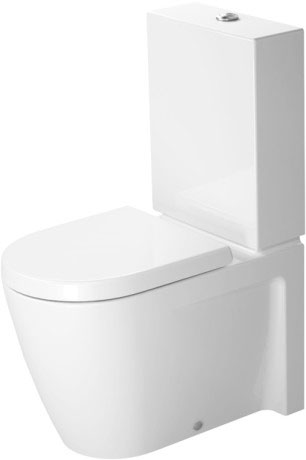 starck 2 stand wc kombination 214509 duravit. Black Bedroom Furniture Sets. Home Design Ideas
