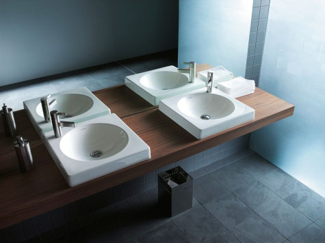 Waschtische & Waschbecken aus Keramik | Duravit | {Waschbecken rund einbau 63}