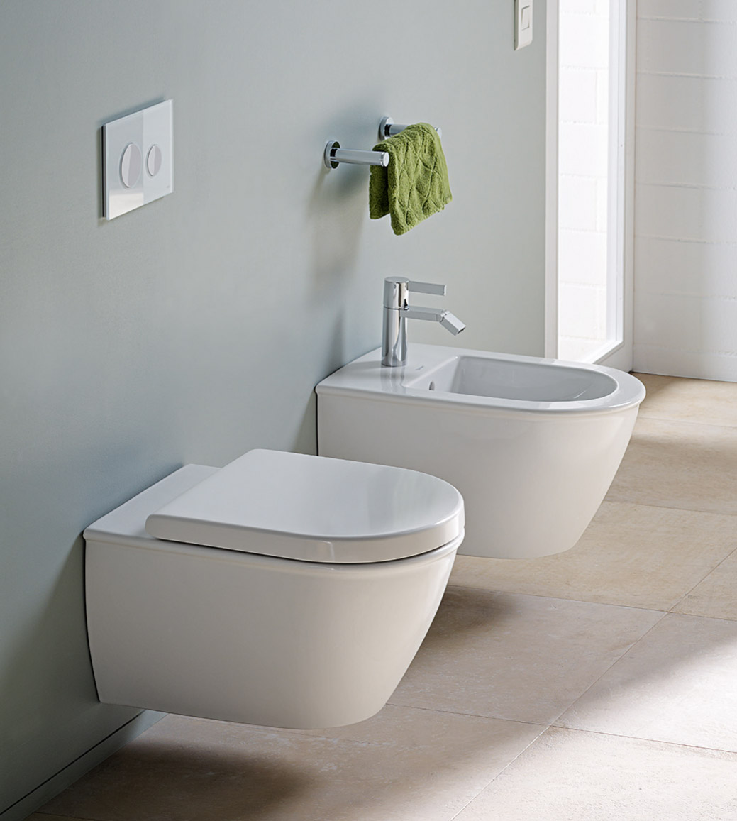 darling new wc bidet sensowash duravit. Black Bedroom Furniture Sets. Home Design Ideas