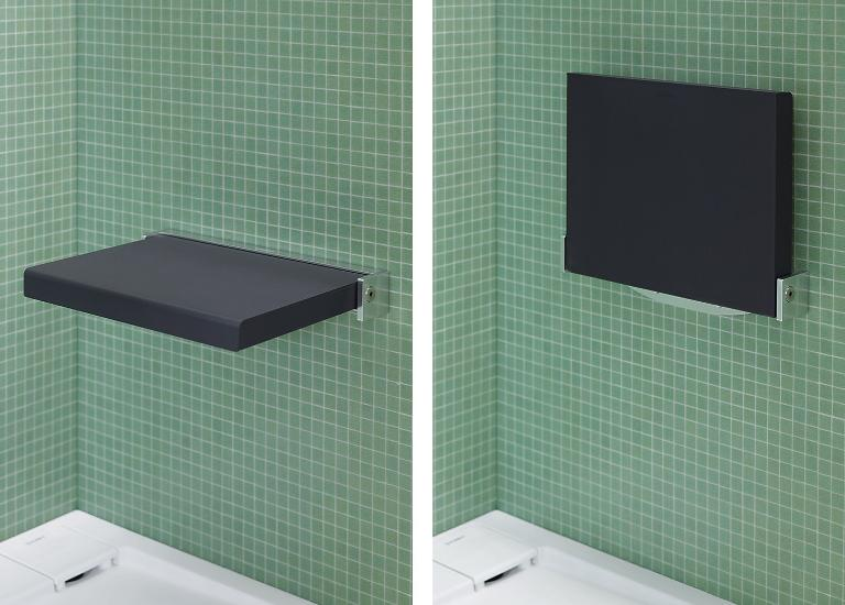duravit badserie openspace b accessoires sitz fr dusche - Klappbarer Sitz Fur Dusche