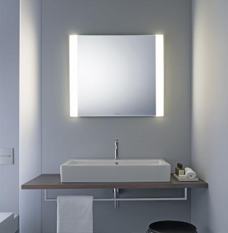 Beleuchtung Badezimmerspiegel licht und spiegel duravit