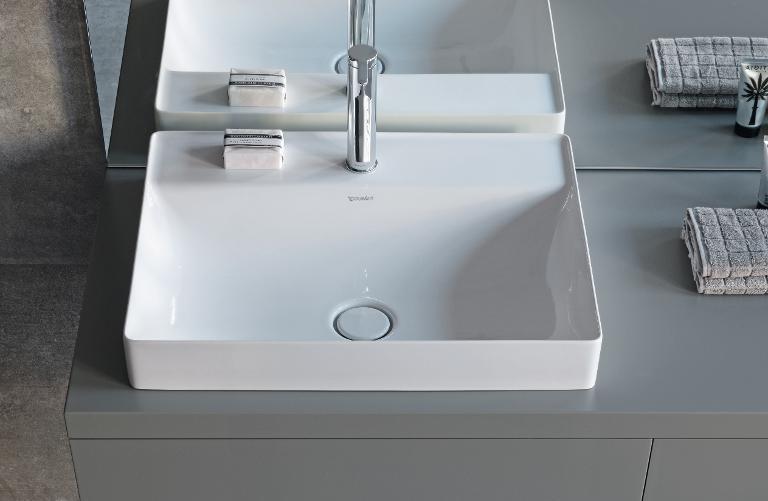 Duravit DuraSquare: Badmöbel, Badewannen, WCs & mehr | Duravit | {Doppelwaschtisch aufsatzwaschbecken duravit 56}