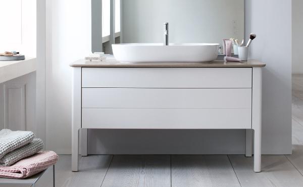 Duravit badmöbel  Duravit Luv: Badmöbel, WCs und mehr im dänischen Design | Duravit
