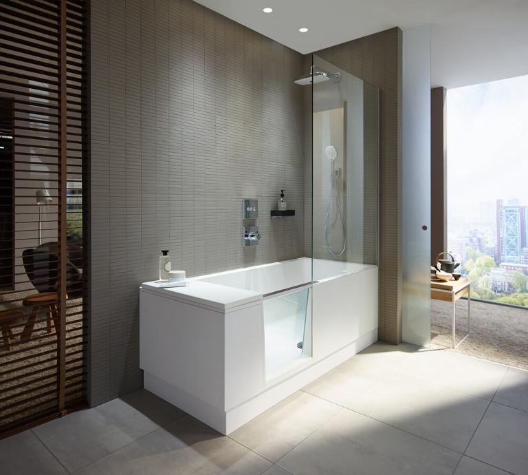 Shower & Bath: Duschbadewannen & Kombiwannen für kleine Bäder | Duravit