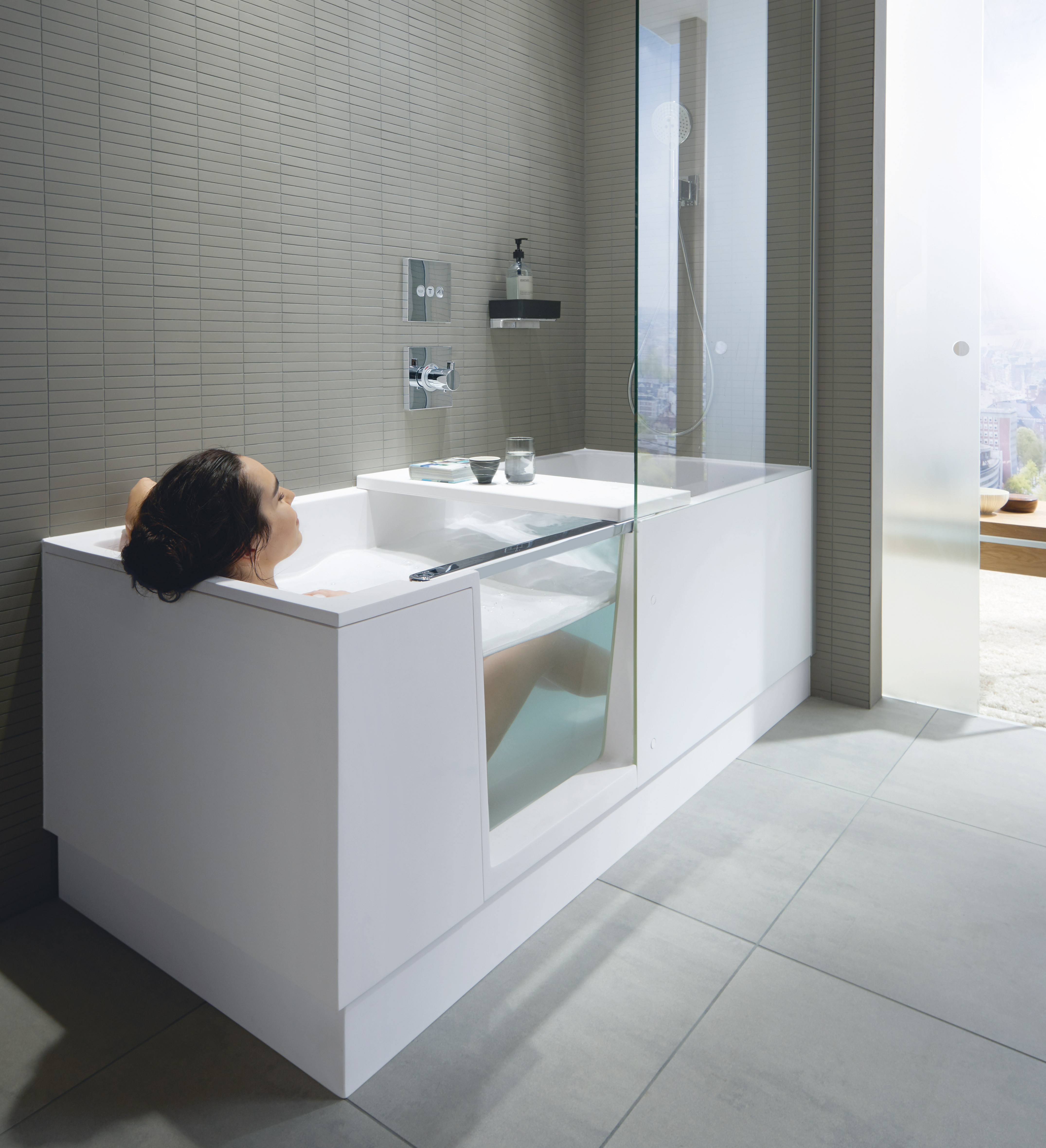 Shower + Bath Löst Alle Platzprobleme! Perfekt Für Kleine Bäder.