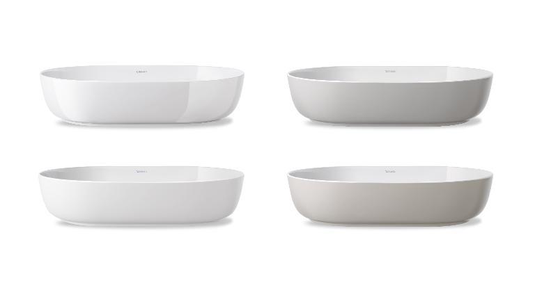 Duravit Luv: Badmöbel, WCs und mehr im dänischen Design | Duravit | {Doppelwaschtisch aufsatzwaschbecken duravit 96}