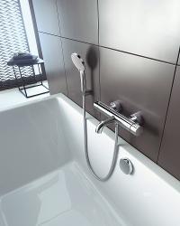 Armaturen badewanne  Duravit C.1 - geradlinige & funktionale Armaturen | Duravit