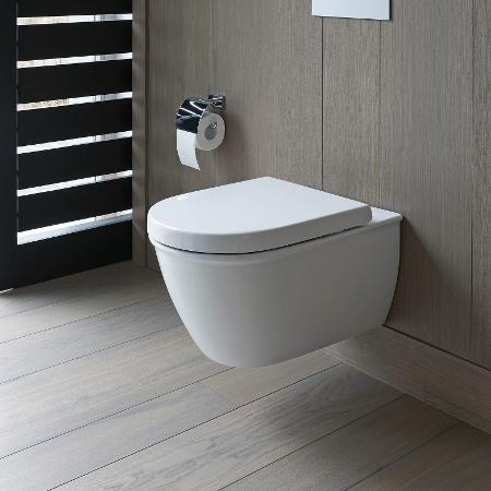 Moderne Toiletten wc und toilette hygienisch modern und hochwertig duravit