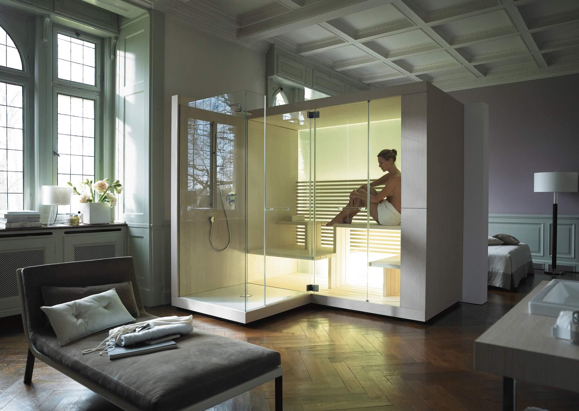 Duravit Sauna   Die Home Sauna Für Bad U0026 Wohnraum | Duravit