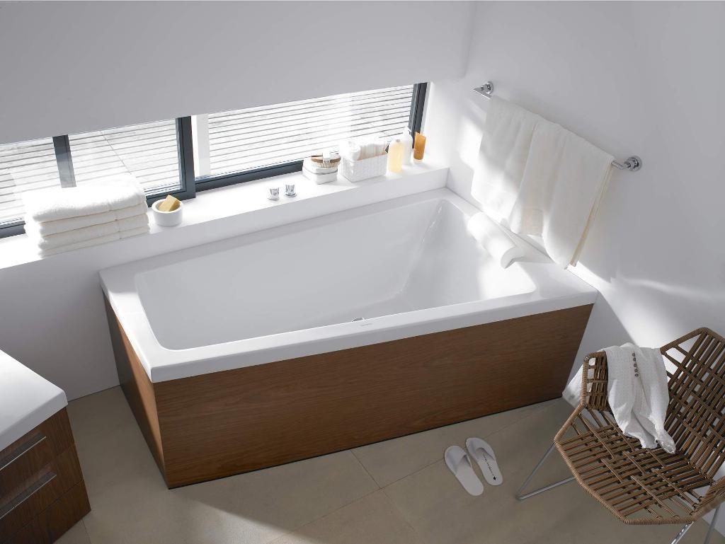 Eckbadewanne 2 personen maße  Duravit Paiova: Die Badewanne für Zwei | Duravit