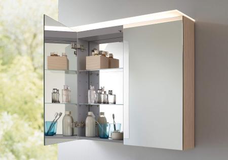 Spiegelschränke & Spiegel mit Beleuchtung | Duravit | {Spiegelschrank mit beleuchtung und ablage 33}