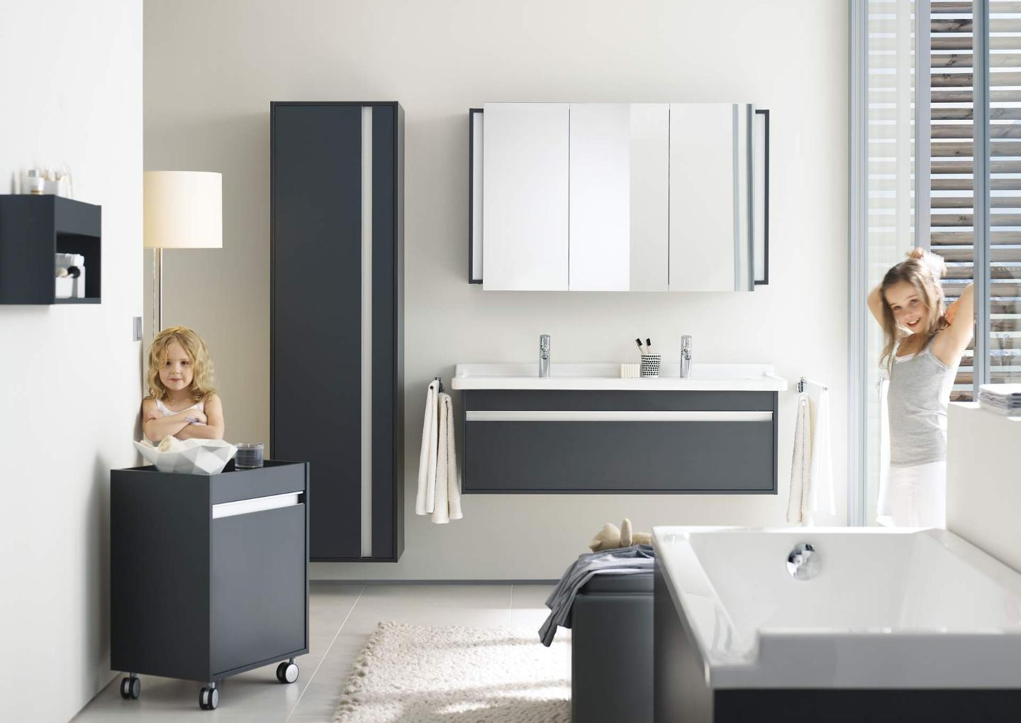 duravit ketho badm bel designed von christian werner. Black Bedroom Furniture Sets. Home Design Ideas