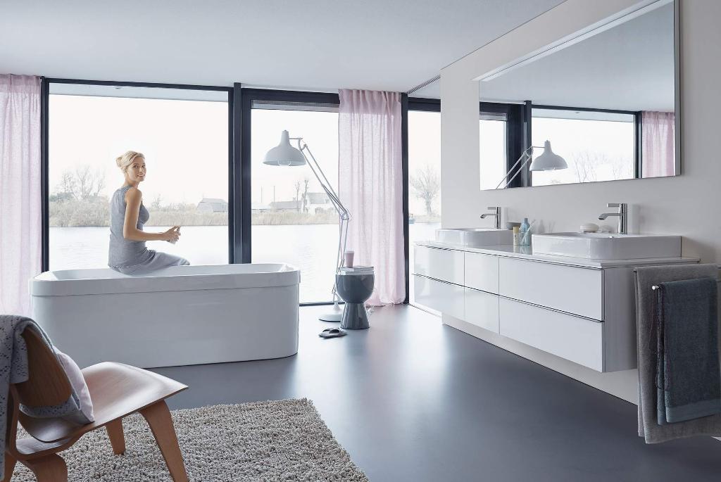 Happy D.2 Waschtische, WCs, Badewannen & mehr | Duravit | {Doppelwaschtisch aufsatzwaschbecken duravit 43}