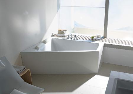 Badewanne Schräg.Duravit Paiova Die Badewanne Für Zwei Duravit
