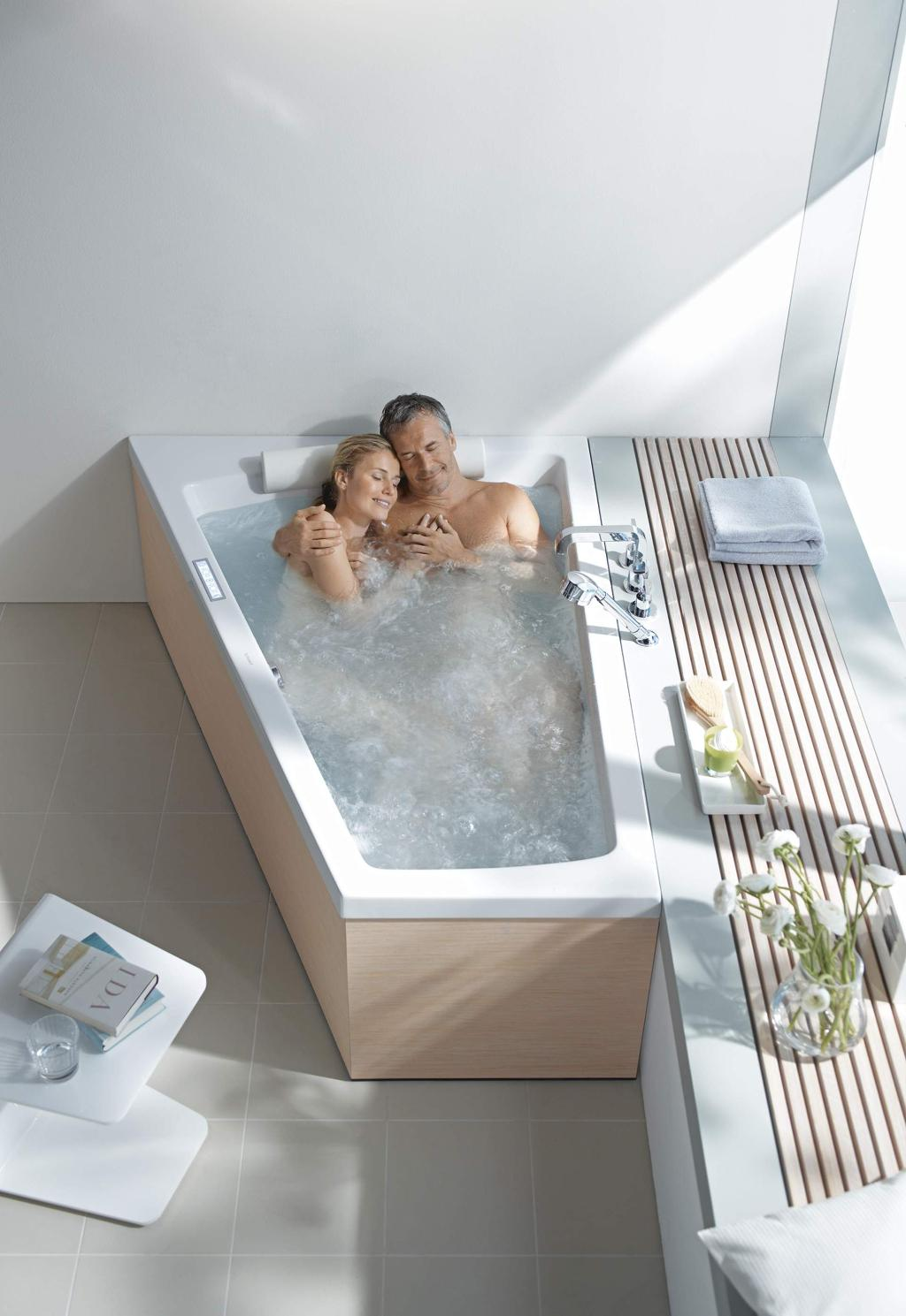 Duravit Paiova: Die Badewanne für Zwei | Duravit | {Badewanne 2 personen maße 11}