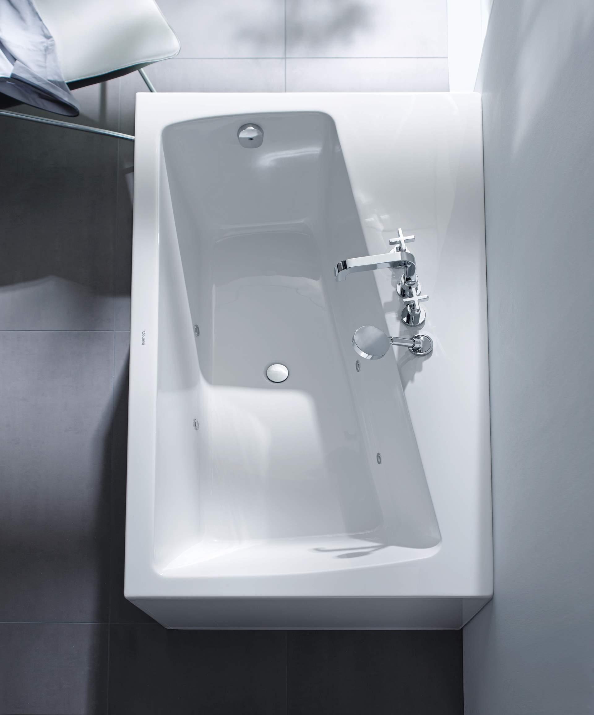 Duravit Paiova: Die Badewanne für Zwei | Duravit | {Eckbadewanne 2 personen maße 63}