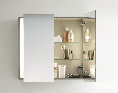 Spiegelschränke & Spiegel mit Beleuchtung | Duravit | {Spiegelschrank mit beleuchtung und ablage 45}
