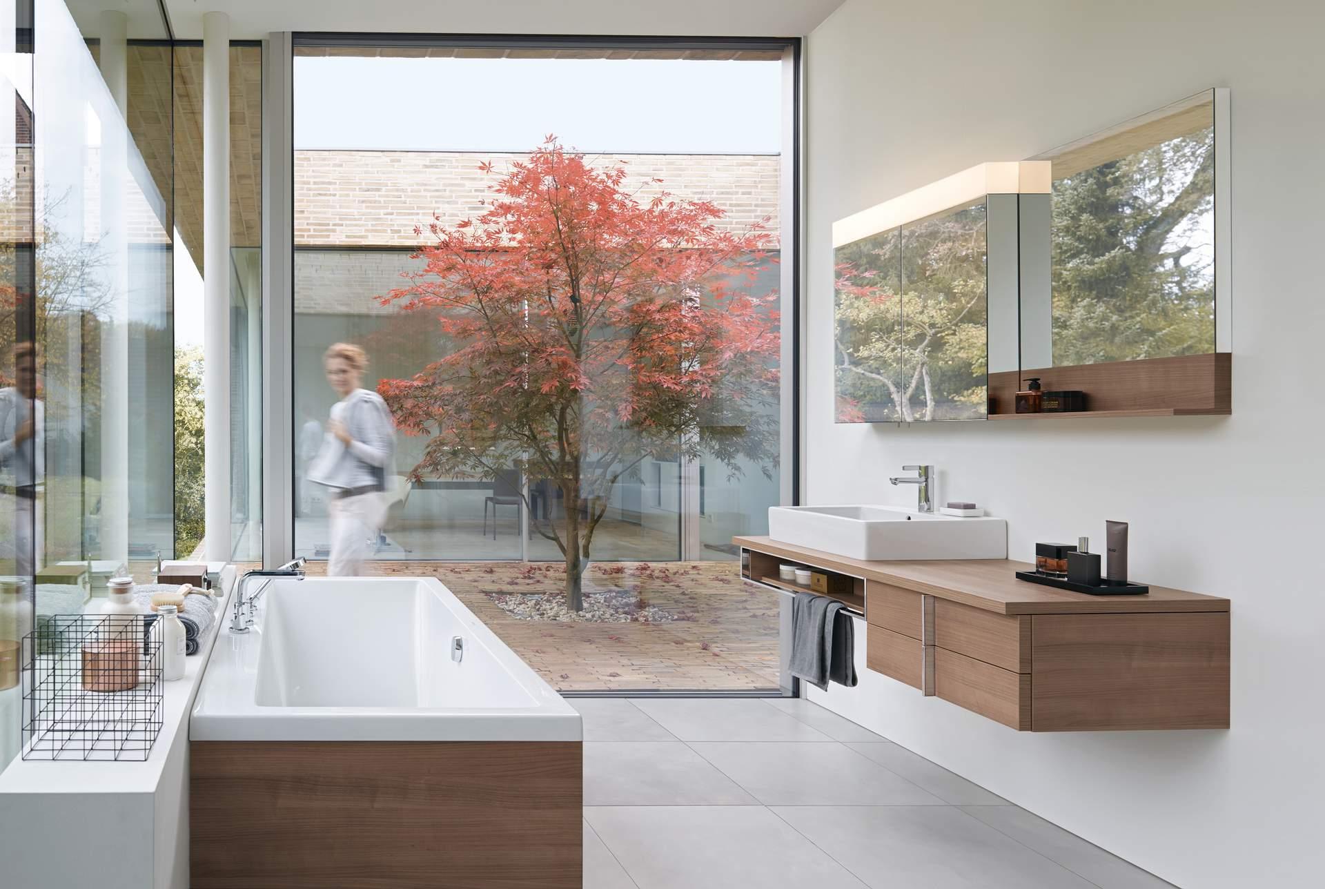 neu.haus ® Waschtischplatte Waschtischkonsole für Aufsatzbecken Schwarz Glanz